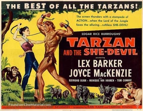 Tarzan and the She-Devil - Movie Poster