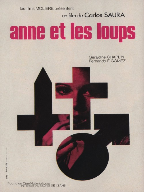 Ana y los lobos - French Theatrical movie poster