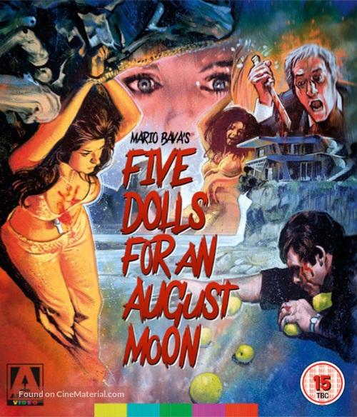 5 bambole per la luna d'agosto - British Movie Cover