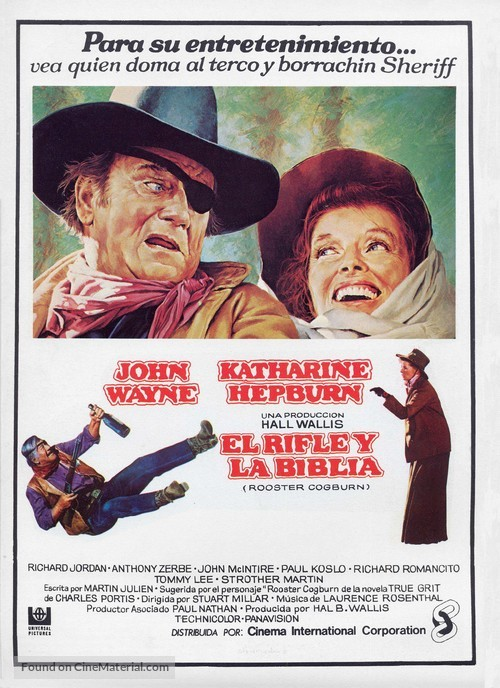 Rooster Cogburn - Spanish Movie Poster