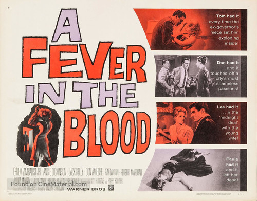 A Fever in the Blood - Movie Poster