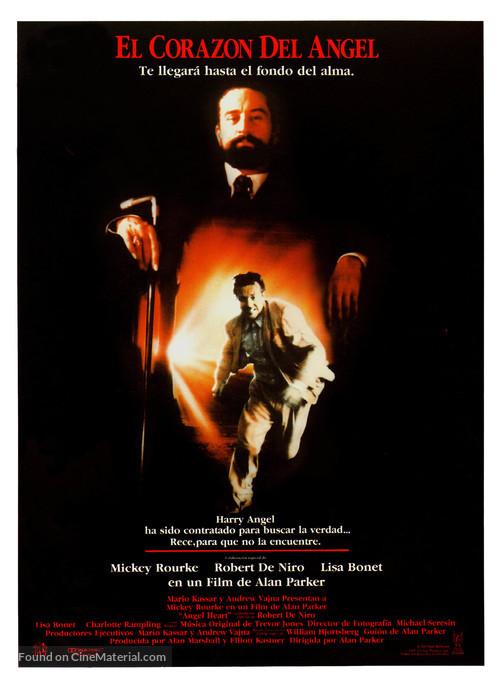 Angel Heart - Spanish Movie Poster