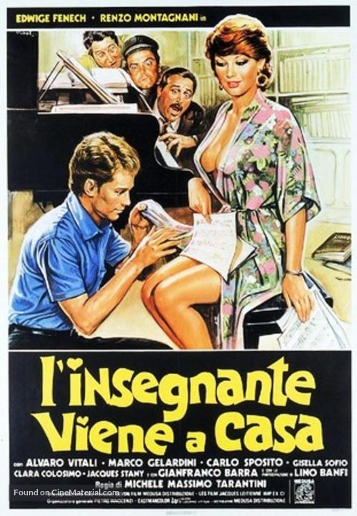 L'insegnante viene a casa - Italian Theatrical poster