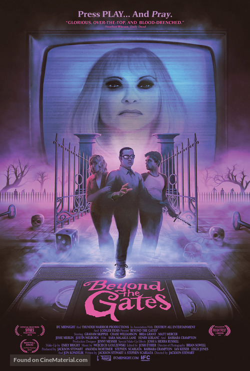 Beyond the Gates - Movie Poster