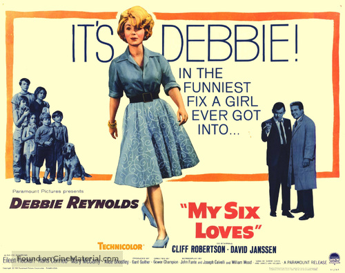My Six Loves - Movie Poster