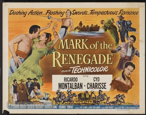 The Mark of the Renegade - Movie Poster