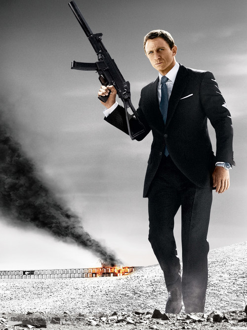 Quantum of Solace - Key art