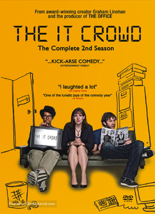 """""""The IT Crowd"""" - Movie Cover"""