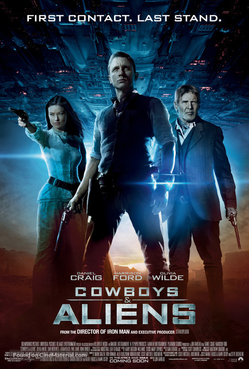 Cowboys & Aliens - Movie Poster
