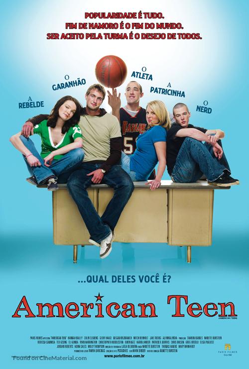 American Teen - Brazilian Movie Poster
