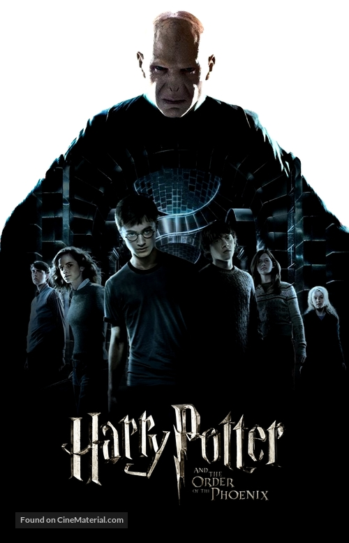 Harry Potter And The Order Of The Phoenix 2007 British Movie Poster
