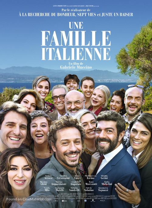 A casa tutti bene french movie poster for A casa tutti bene