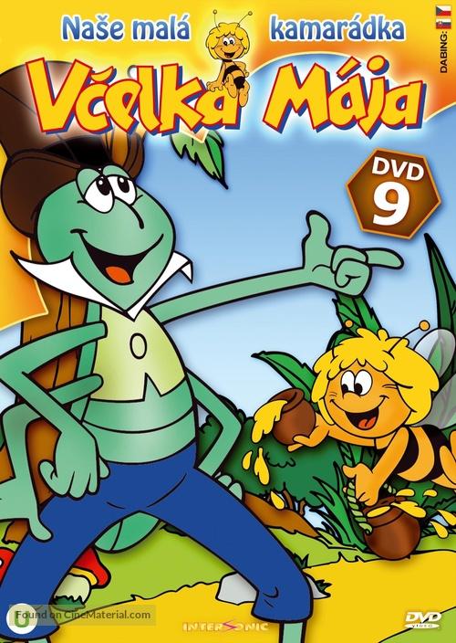 """Mitsubachi Maya no boken"" - Czech DVD movie cover"