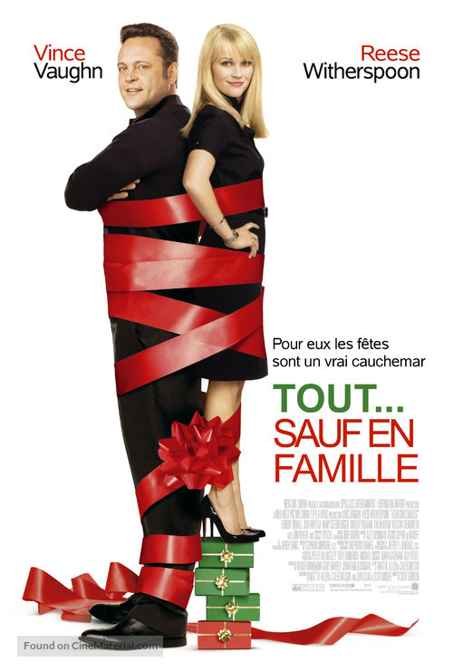 Four Christmases - French Movie Poster