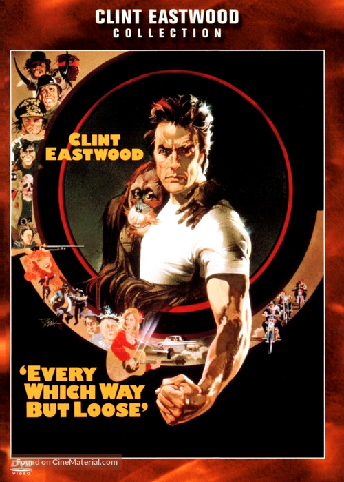 Every Which Way But Loose - DVD movie cover