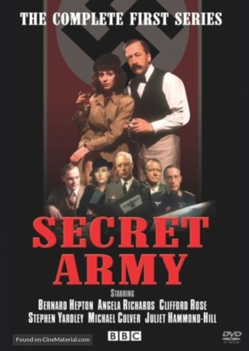 """Secret Army"" - British Movie Cover"