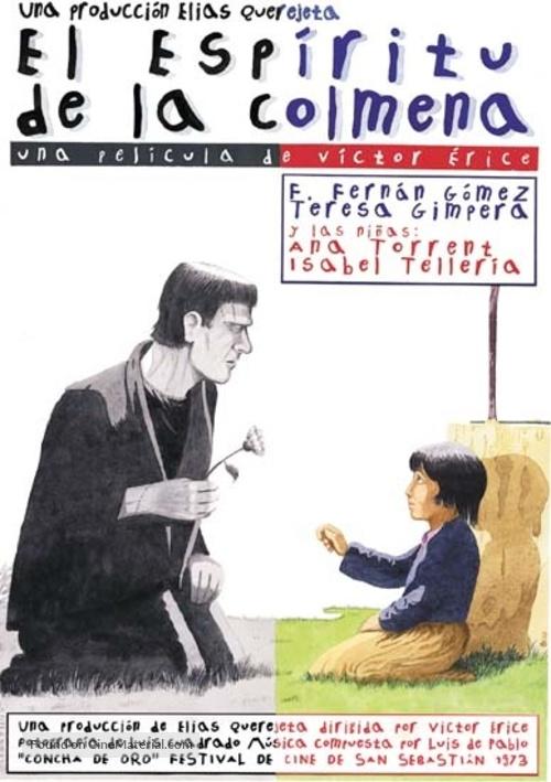 El espíritu de la colmena - Spanish Movie Poster