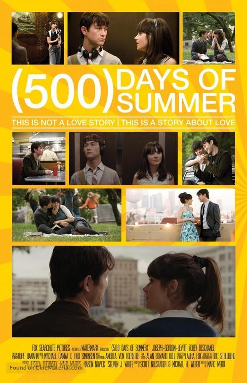 (500) Days of Summer - Movie Poster