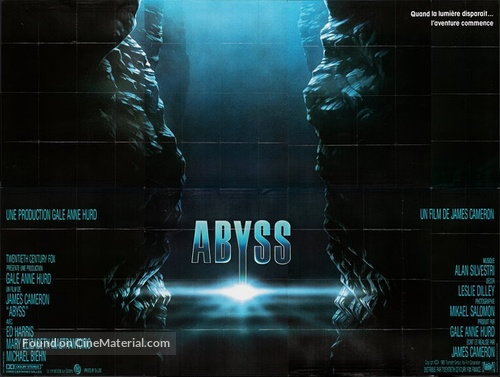 The Abyss - French Movie Poster