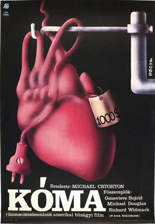 Coma - Hungarian Movie Poster
