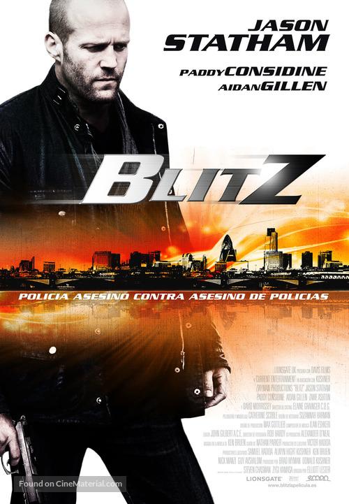 Blitz - Spanish Movie Poster