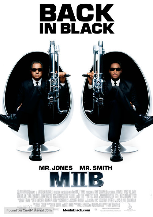 Men in Black II - Swedish Movie Poster