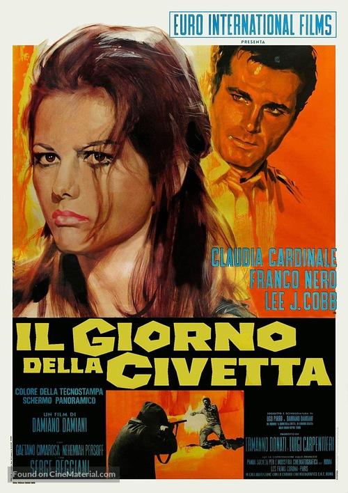 Il giorno della civetta - Italian Movie Poster