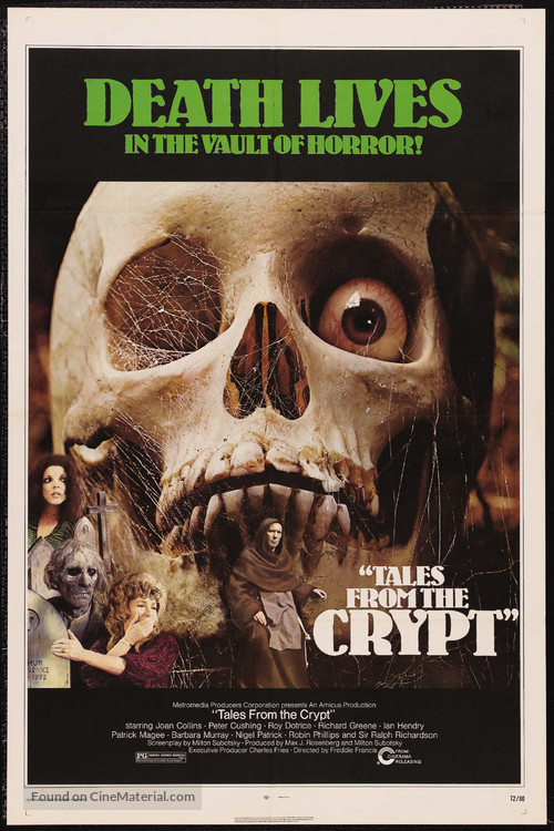 Tales from the Crypt - Movie Poster