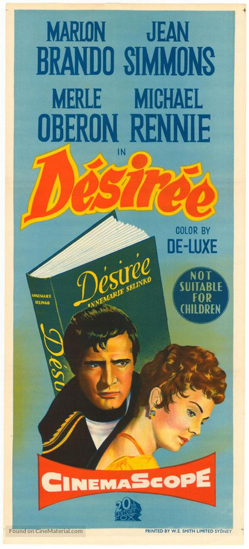Desirée - Australian Movie Poster