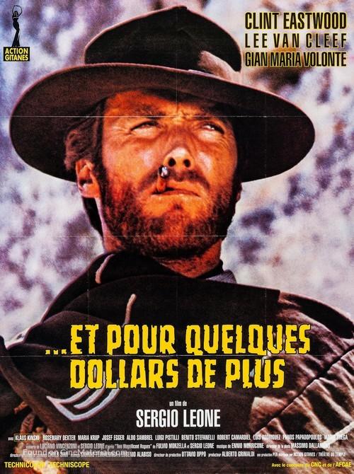 Per qualche dollaro in più - French Re-release movie poster