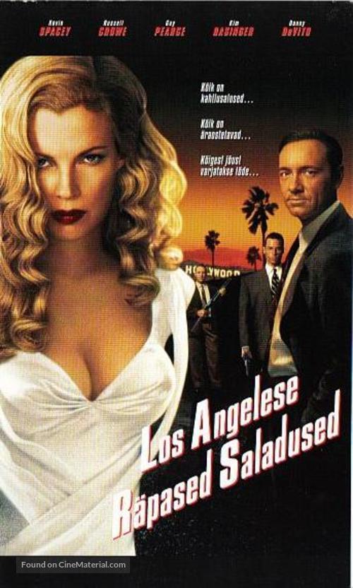 L.A. Confidential - Estonian VHS movie cover