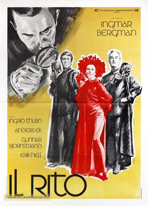 Riten - Italian Movie Poster