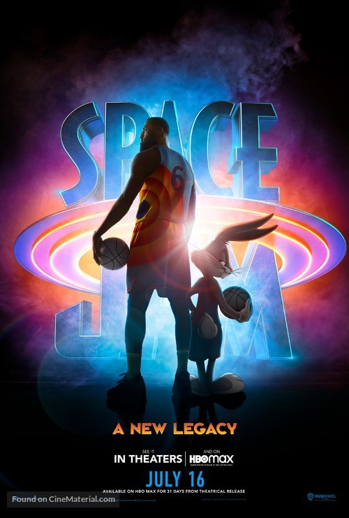 Space Jam: A New Legacy (2021) movie poster