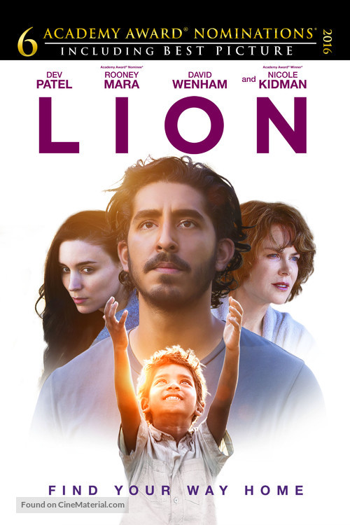 Lion - Movie Cover