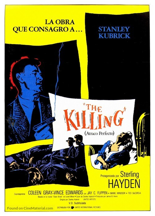 The Killing - Spanish Movie Poster
