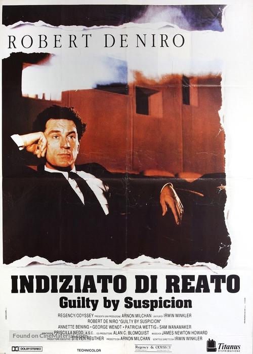 Guilty by Suspicion - Italian Movie Poster