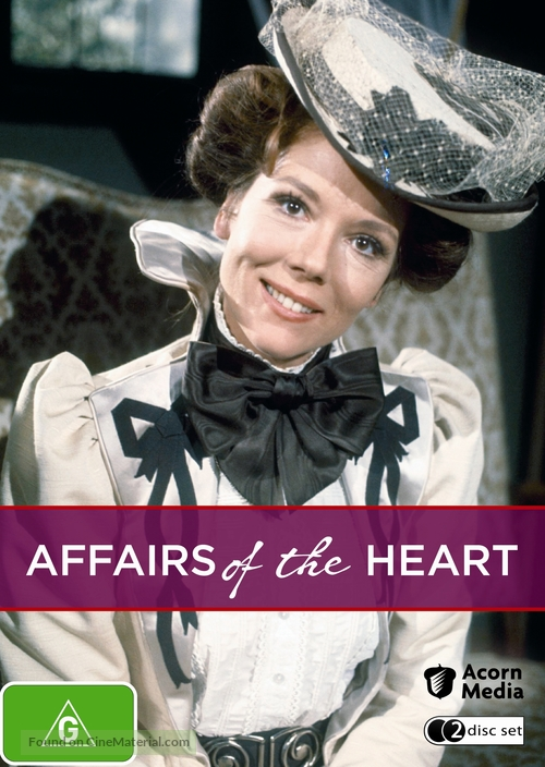 """""""Affairs of the Heart"""" - Australian Movie Cover"""