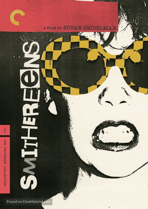 Smithereens - DVD movie cover