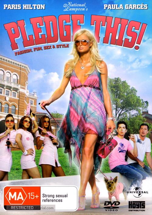 Pledge This - Australian DVD cover