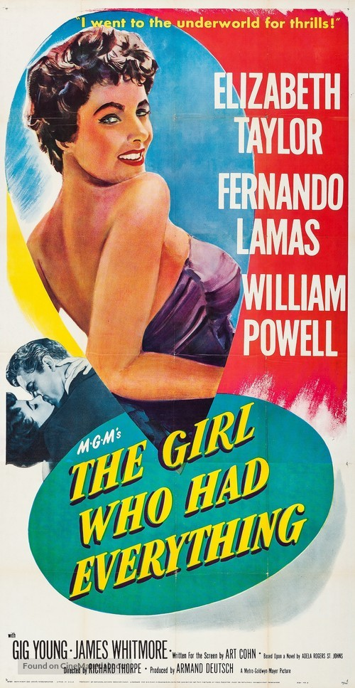 The Girl Who Had Everything - Movie Poster