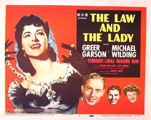 The Law and the Lady - Movie Poster