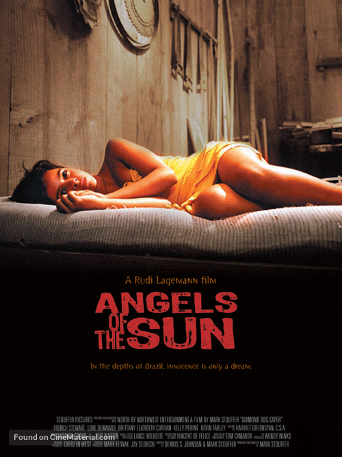 Anjos do Sol - British Movie Poster