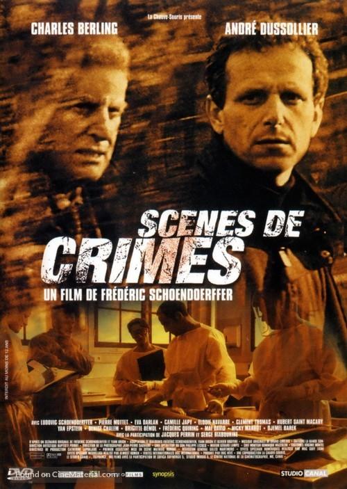 Scènes de crimes - French DVD movie cover