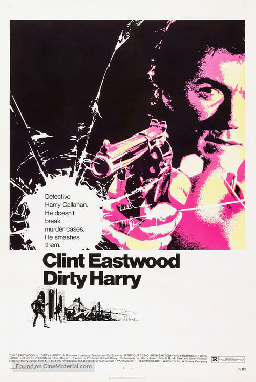 Dirty Harry - Movie Poster