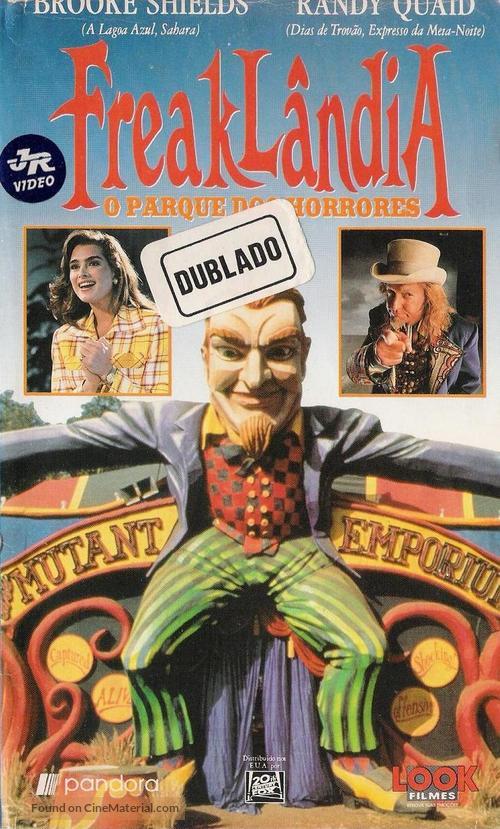 Freaked - Brazilian VHS movie cover
