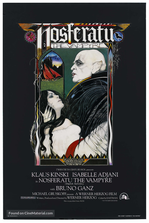 Nosferatu: Phantom der Nacht - Movie Poster