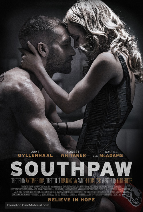 Southpaw - Theatrical movie poster