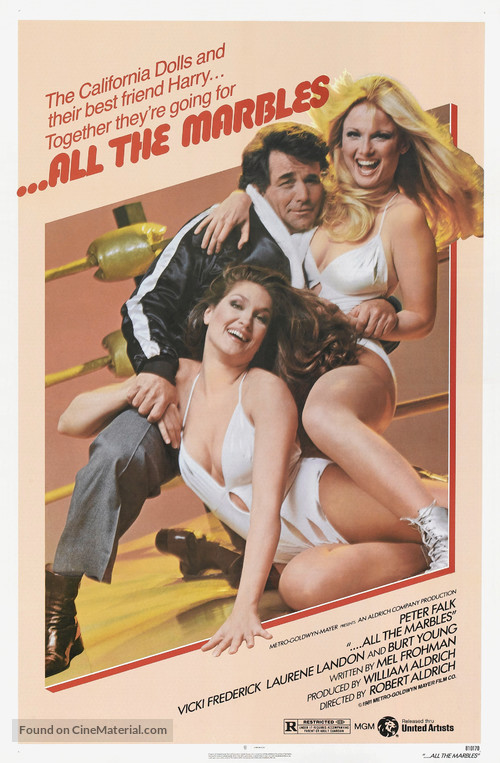 ...All the Marbles - Movie Poster