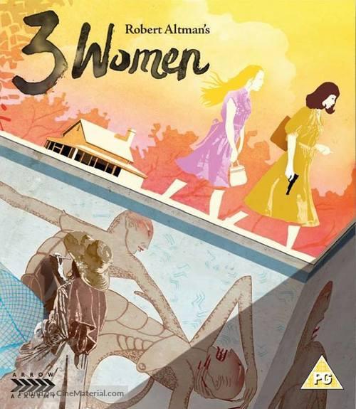 3 Women - British Blu-Ray movie cover