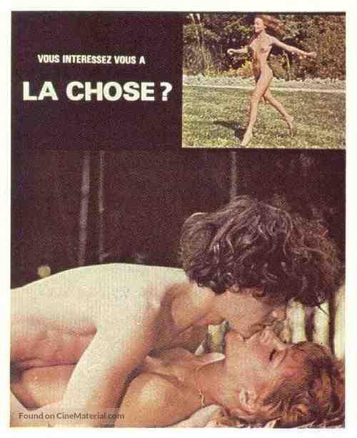 Vous intéressez-vous à la chose? - French Movie Poster